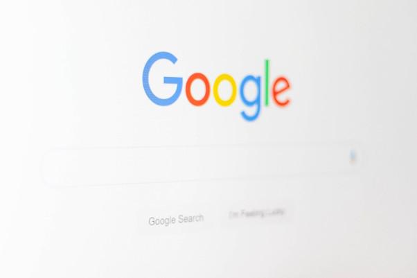 Suchfenster von Google